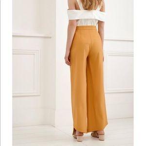 C/MEO COLLECTIVE • tan / orange trousers
